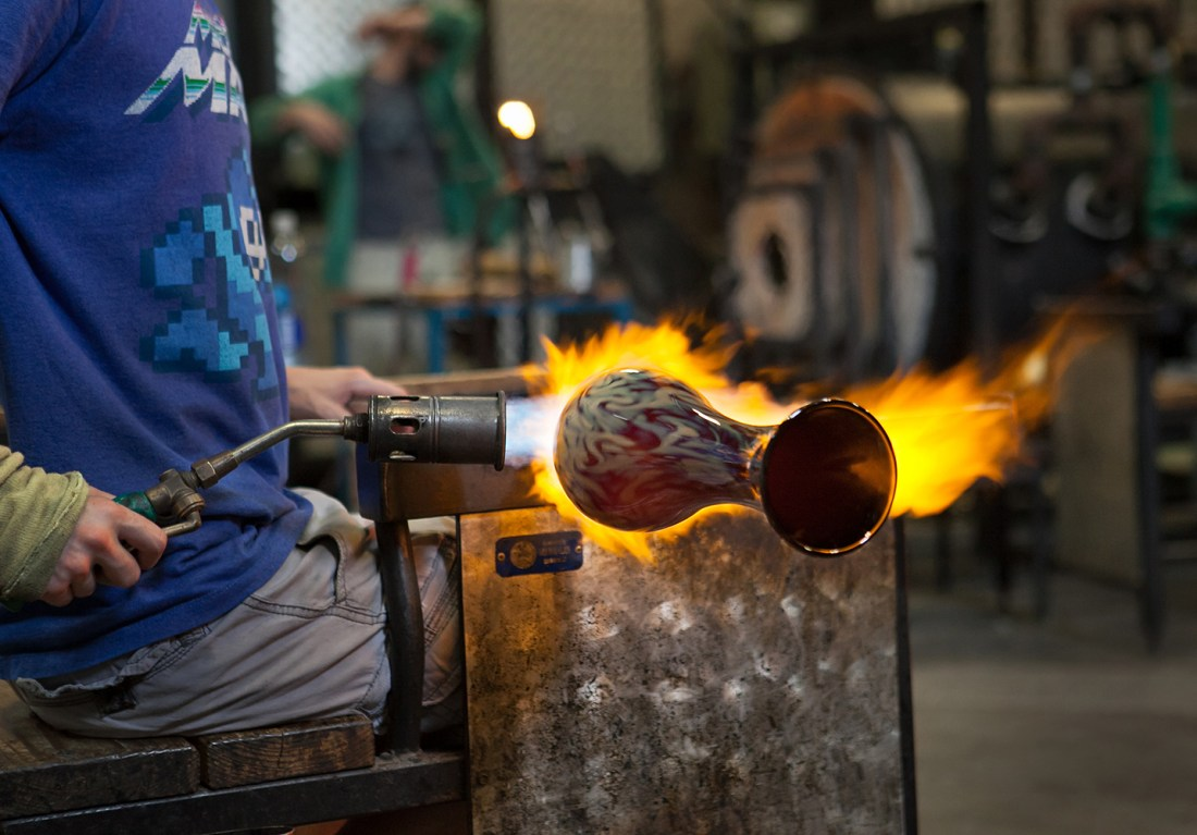 People_Making_Hot Glass