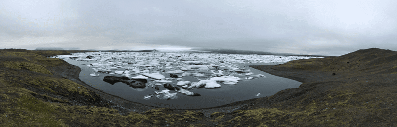 Reisetipps für Island: Gletscherfulusslagune Jökulsárlón am Fuße des Vatnajökull
