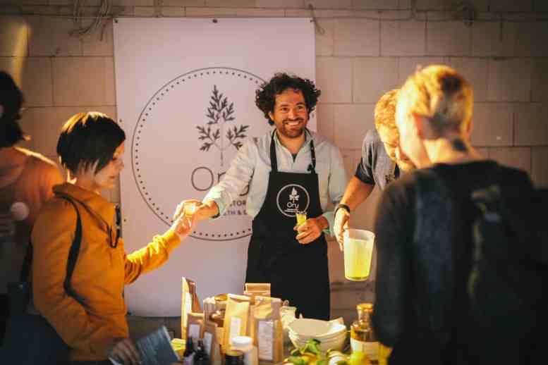 Smoothies von Ory beim somuchmore Holistic Day in Berlin