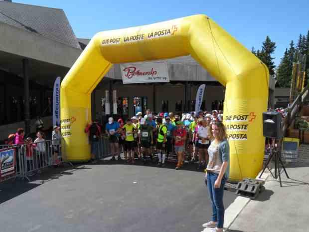 Startschuss Aletsch Halbmarathon 2015
