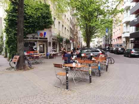 Café Yo! im Belgischen Viertel in Köln