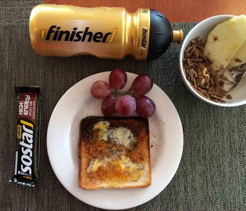 Wettkampfernährung – Frühstück eines Läufers