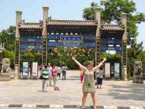 Reisetagebuch China: Penglai Pavillon