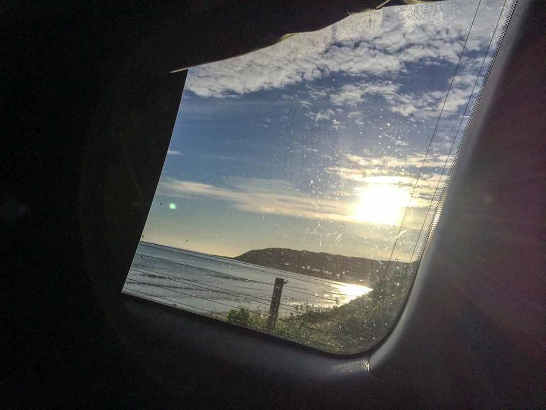 Aufwachen beim Camping in Neuseeland