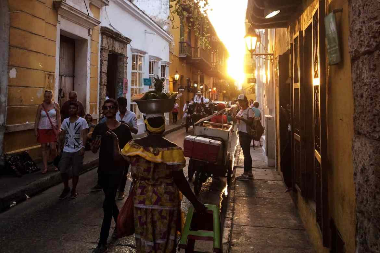 Straße Cartagena