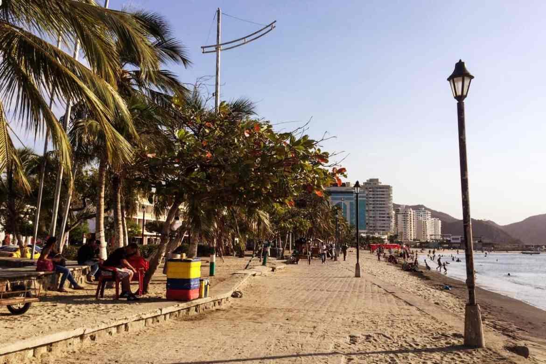 Seepromenade Santa Marta