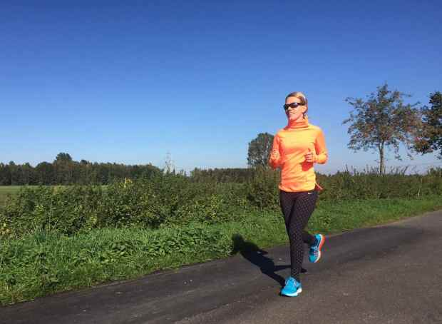 Laufen mit Kristin Woltmann