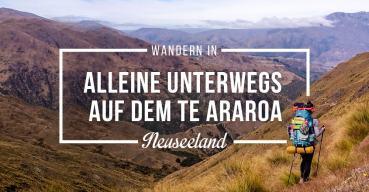 Der Te Araroa Trail ist der längste Fernwanderweg Neuseelands und führt vom Cape Reinga im Norden bis zum Südzipfel nach Bluff. Im Interview berichtet Gina von ihren Erfahrungen auf dem Trail.