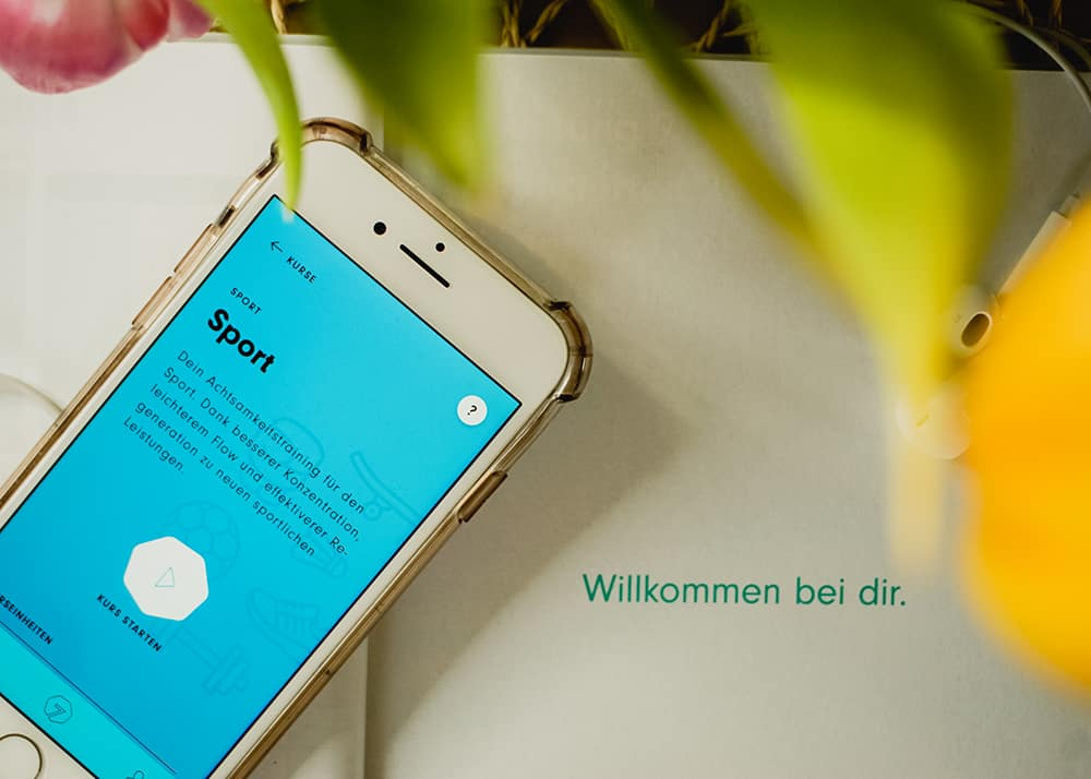 App und Achtsamkeitsplaner von 7Mind