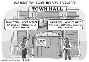 Town Hall vs Board Meeting and Why it Matters Gladly