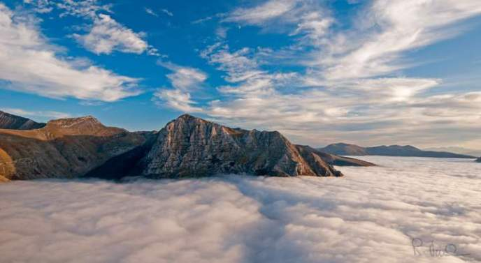 Photonica3 - I Monti Sibillini - Mare di nubi