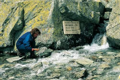 Le sorgenti del Po, Pian del Re, Alpi Cozie