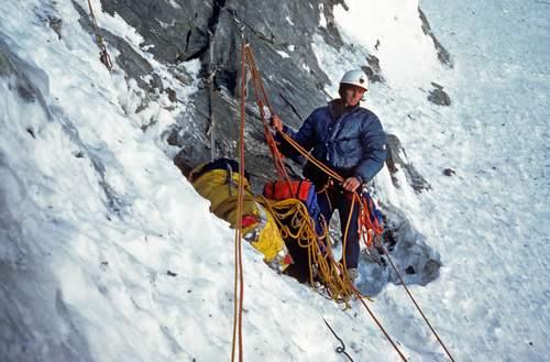 Cervino, Naso di Zmutt, via Piola-Steiner, 1a ascensione 1981
