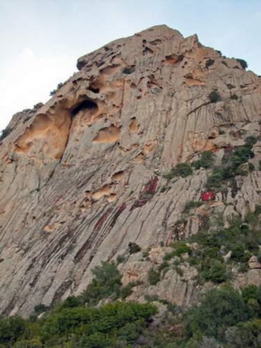 Punta dei Banditi, parete ovest