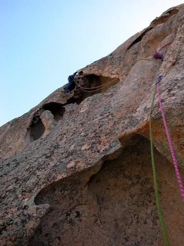 Rocca dei Banditi, ultima lunghezza di Fiato Sospeso