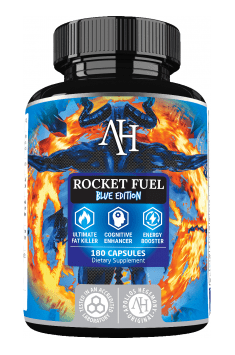 Recommended all-in-one supplement for losing weight - Rocket Fuel Blue Edition from Apollos Hegemony