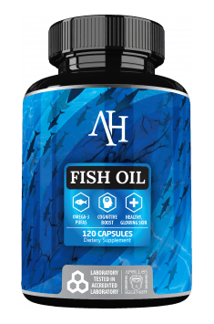 Fish Oil from Apollo Hegemony is clinically tested Omega 3 fatty acids supplement, containing high dose of EPA and DHA