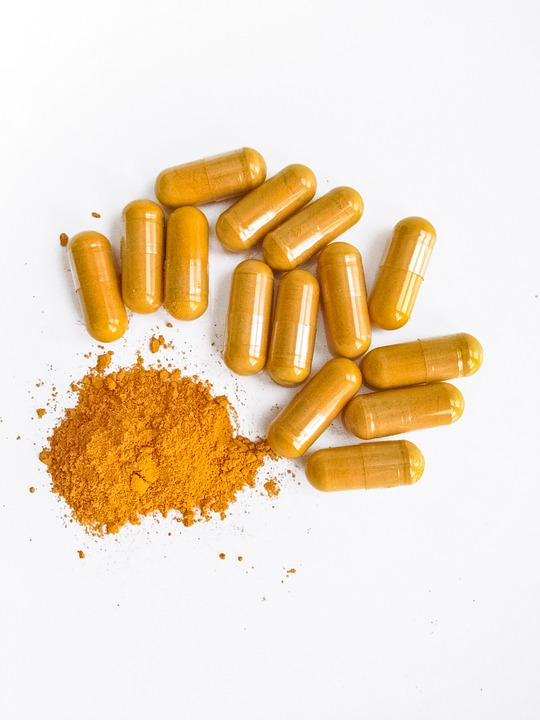 Curcumin is mainly used, as a dietary supplement. We can find curcumin in capsules or tablets. We strongly suggest capsule version though, because it's easier to digest!