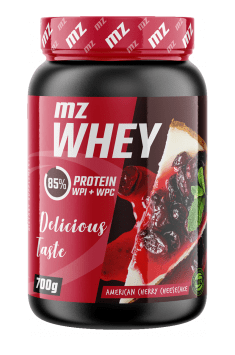 MZ Whey is a clinically tested protein supplement containing combination of whey protein concentrate and whey protein isolate
