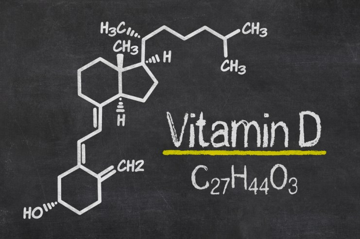 Vitamin D - chemical formula
