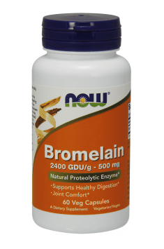 If you want to supplement Bromelain, a option from NOW Foods will be the best possible! High dose of Bromelain from reputable brand? That's what you need!