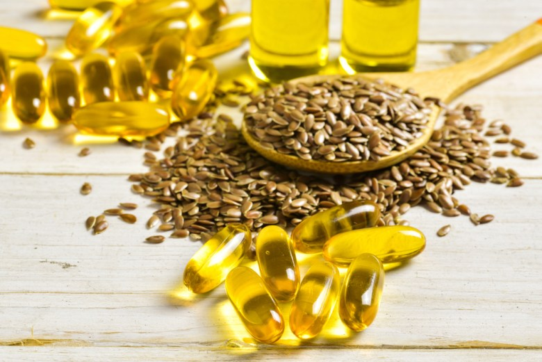 Linseed is huge source of healthy omega 3 fatty acids
