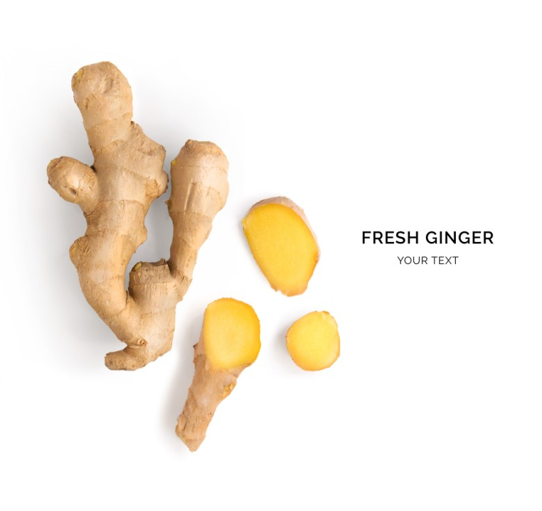 How the fresh ginger should look like