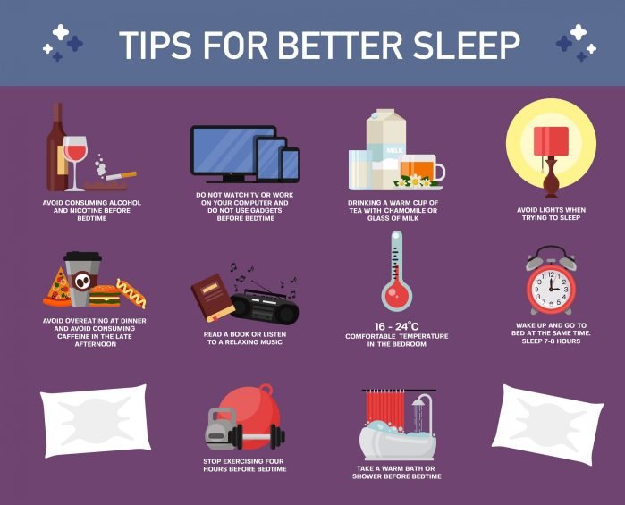 Some important tips for better sleep!