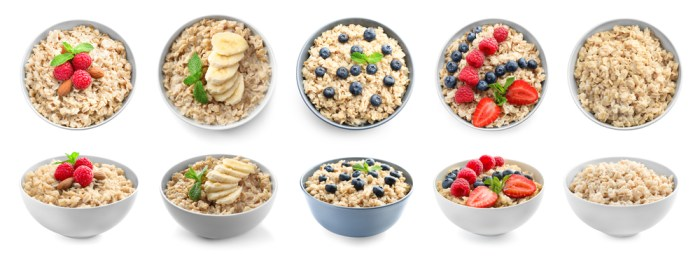 Porridge should be the best choice for the breakfast