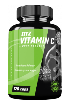 MZ Store Vitamin C + Rose Extract is a great source of natural antioxidants - Vitamin C and extract from Rose