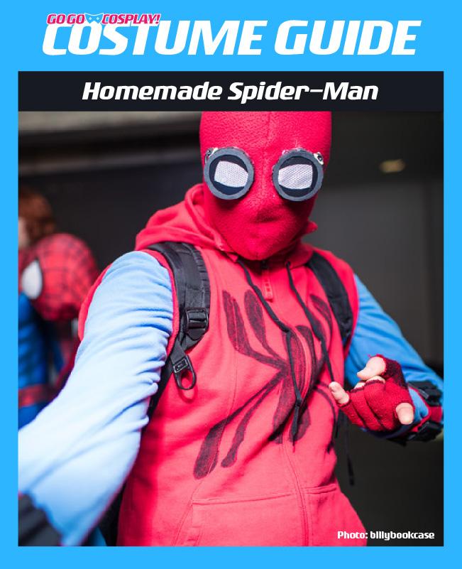 Homemade Spiderman Costume : homemade, spiderman, costume, Homemade, Spider-Man, Homecoming, Costume, Guide]