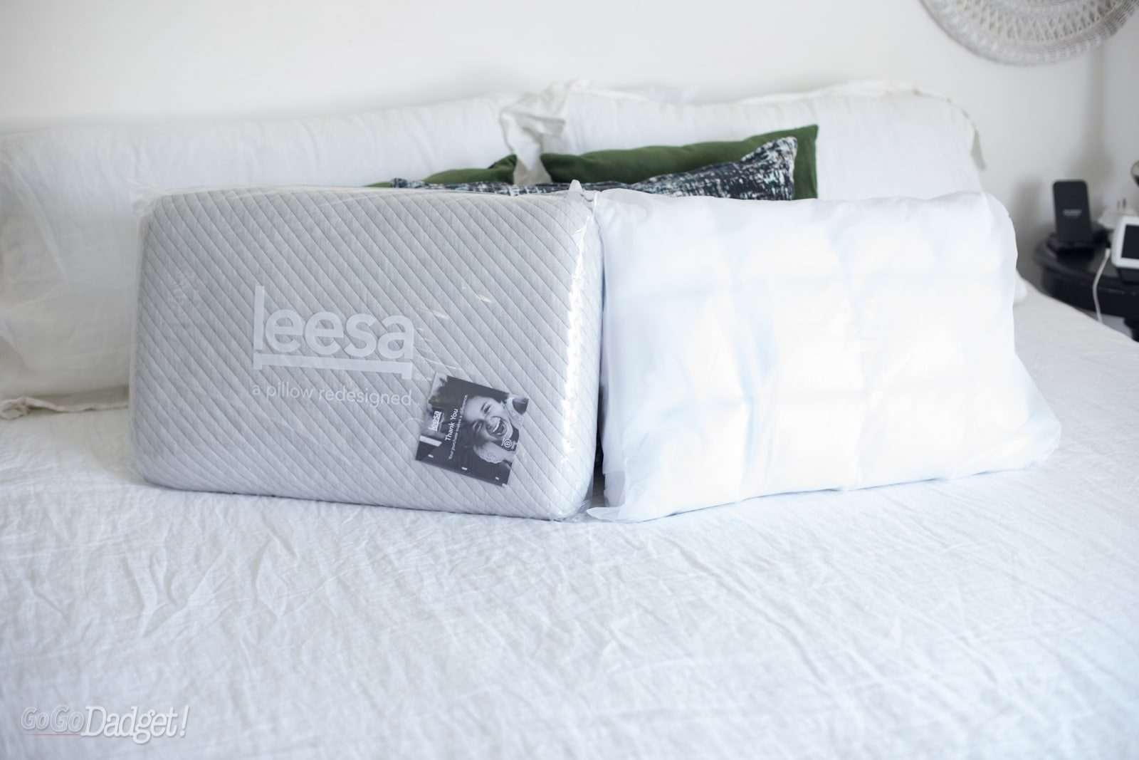 the new leesa hybrid pillow is a dream
