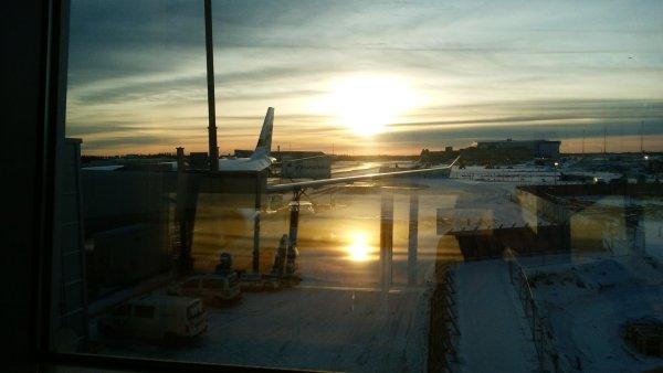 フィンランドのヴァンター空港