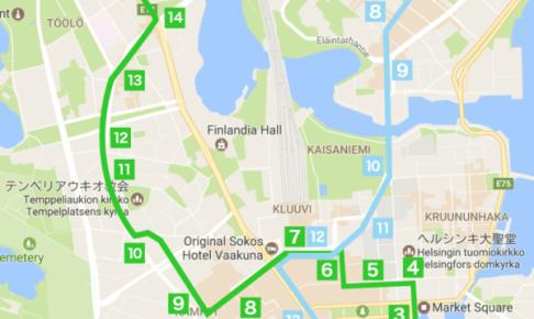 ヘルシンキ・トラム2・3番線