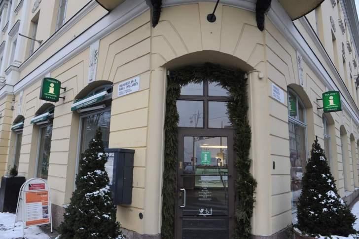 ヘルシンキ観光案内所の入り口