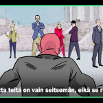 フィンランド大統領選をPRするフラッシュアニメ