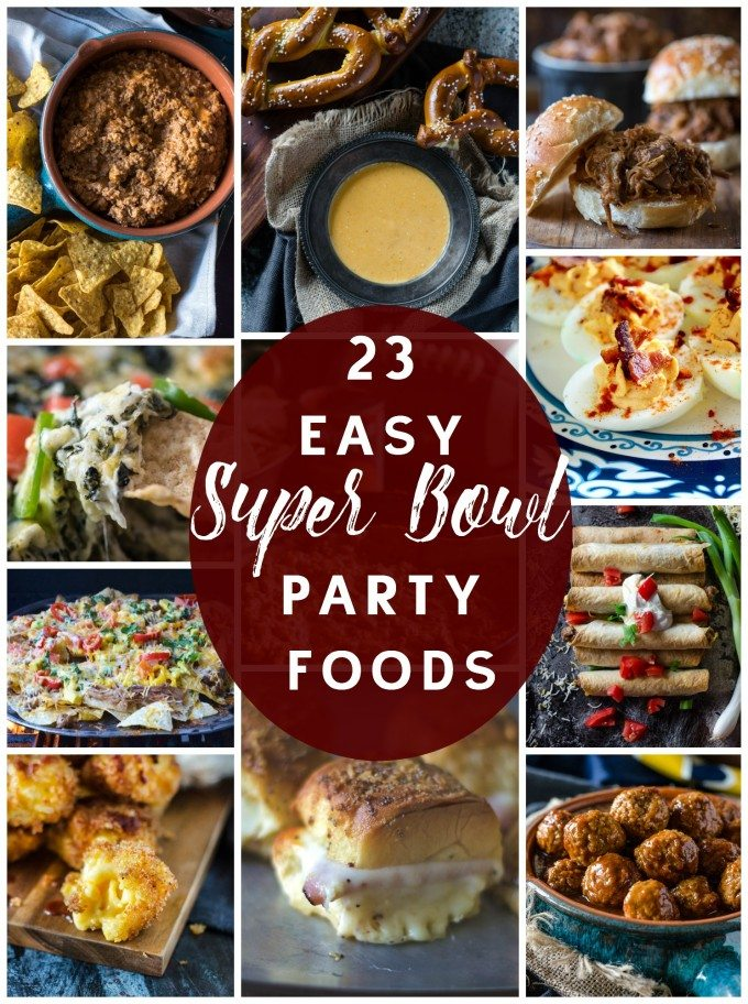 Cold Appetizers For Super Bowl Party : appetizers, super, party, Super, Party, Recipes, Dips,, Finger, Foods, More!