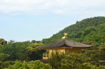 Kinkaku-ji from behind