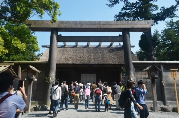 The main part of Ise Grand Shrine Geku