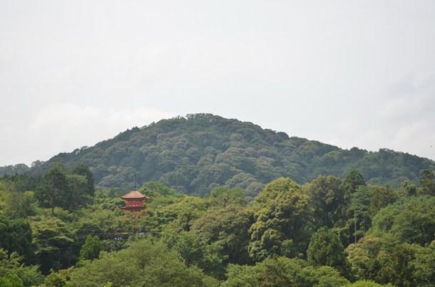 Kiyomizudera Pagoda at a Distance