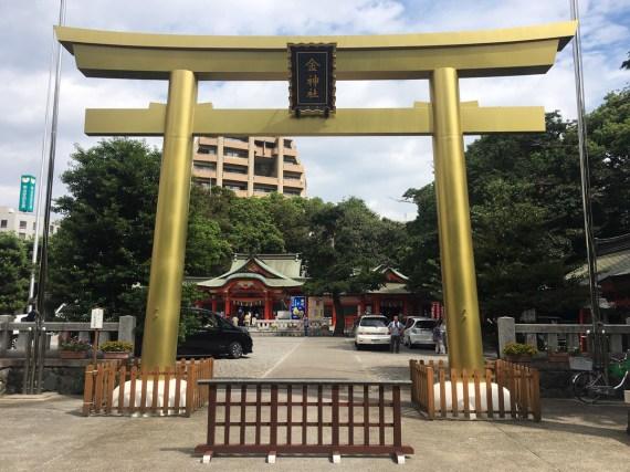 Gold torii