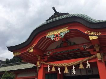 Roof of Kogane Shrine