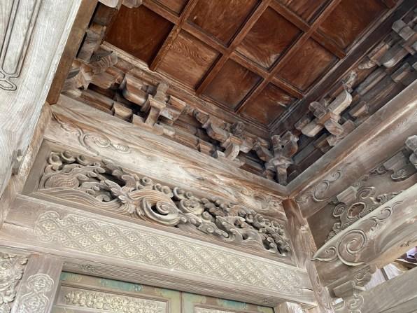 Zuisenji gate ceiling