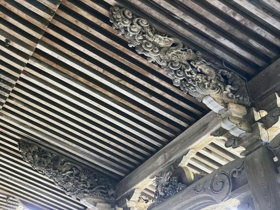 ceiling carvings