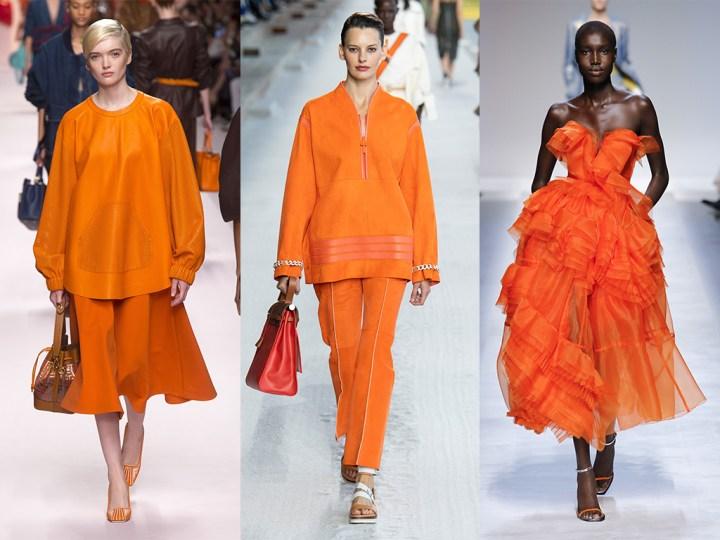 Abbigliamento che colore si userà questa p/e 2019??
