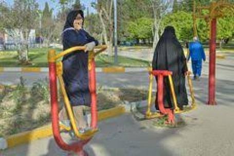 Shiraz palestra all'aperto