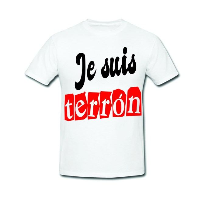 Tshirt je suis terron - Gogolfun.it