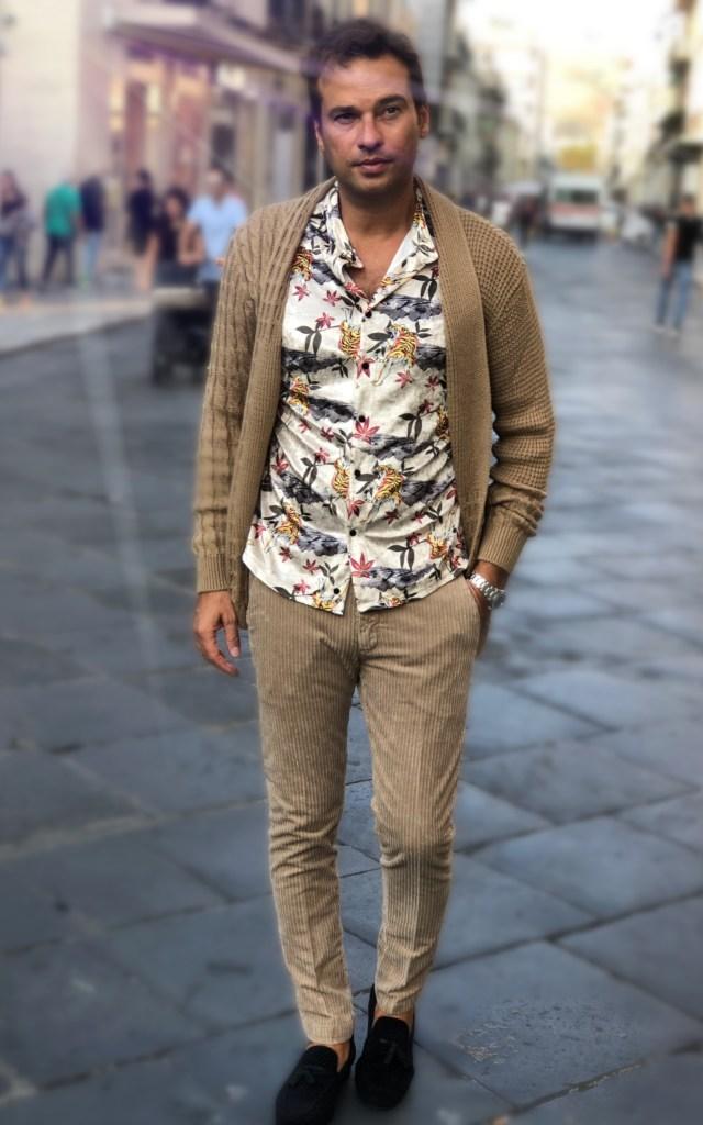 Paul Miranda - pantaloni uomo beige
