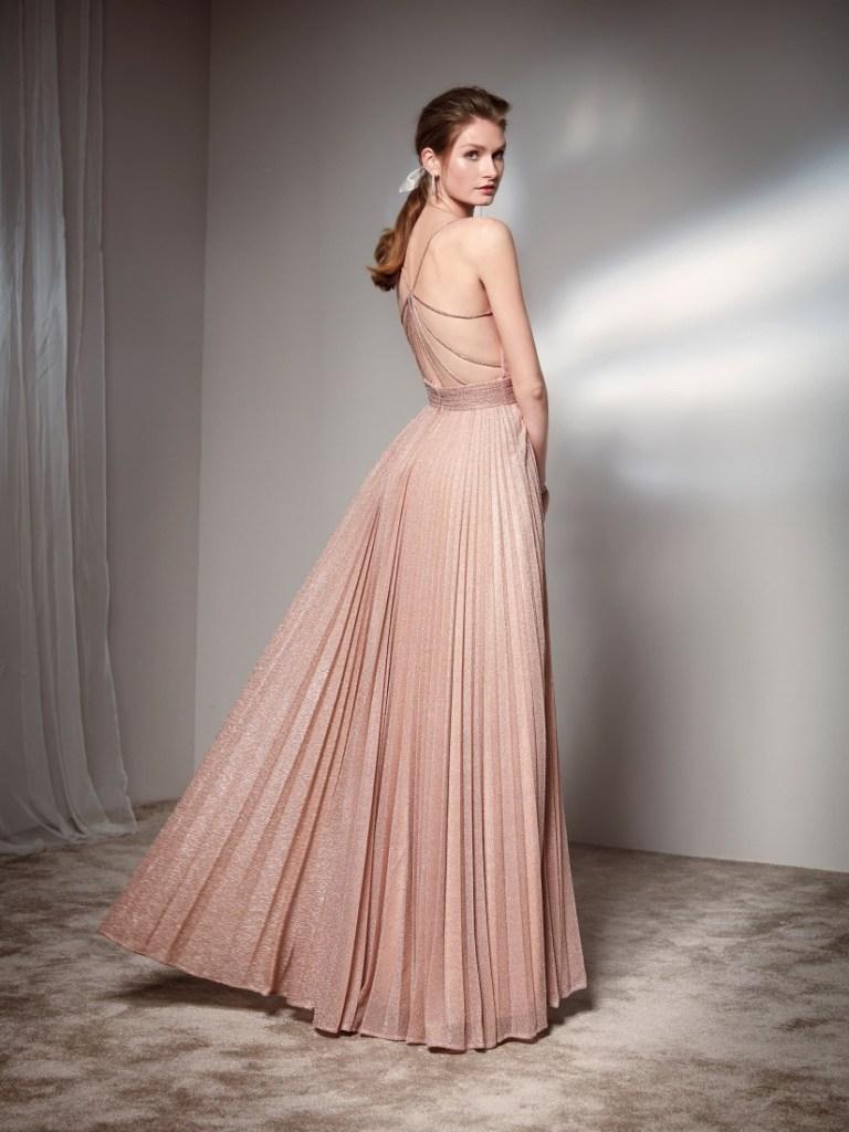 Cerimonia donna - Abiti eleganti - Color cipria