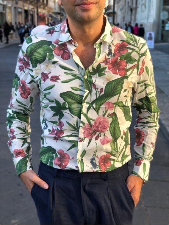 Camicie floreali -gogolfun.it